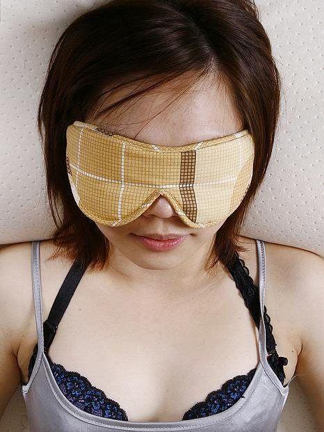 眼罩使用步骤图